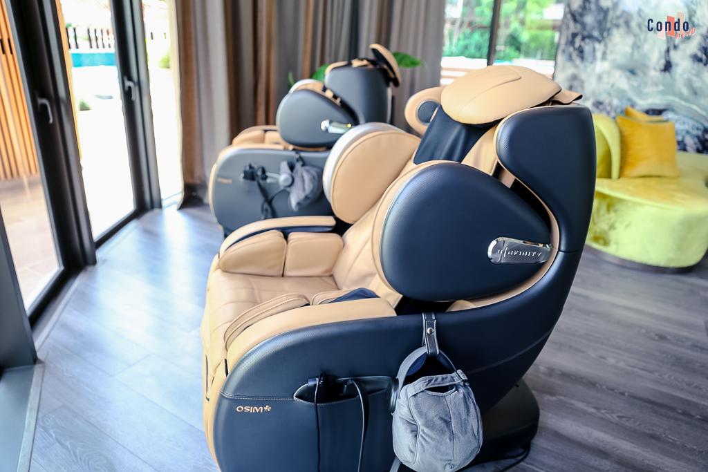 เก้าอี้นวดไฟฟ้าสำหรับลูกบ้านคาวะ เฮาส์