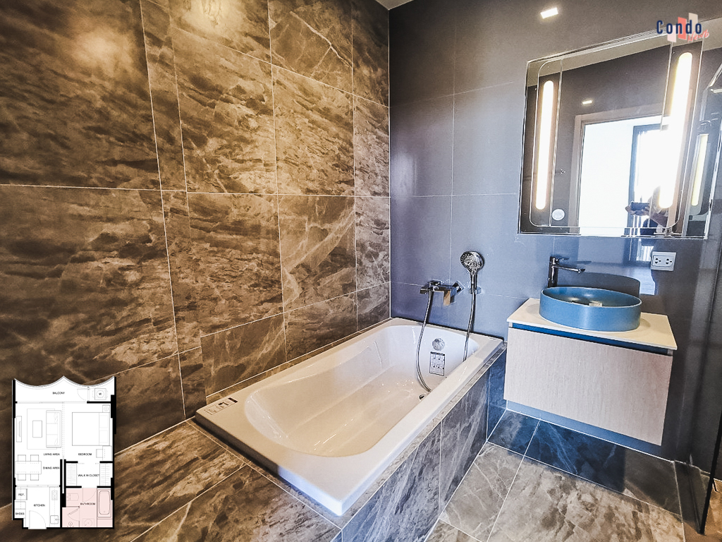อ่างอาบน้ำ ใน KAWA Haus