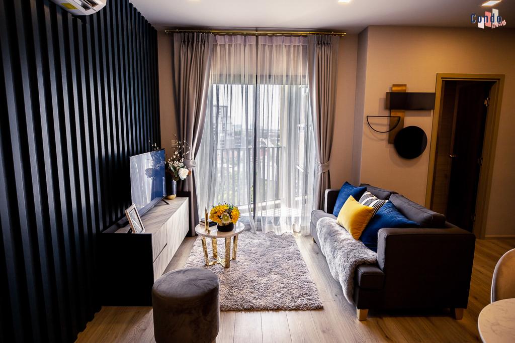 ห้องตัวอย่างแบบ 2 Bedroom TYPE C3-1